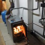 Дровяное автономное отопление