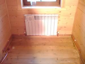 Автономное отопление дачи дровами